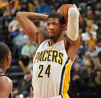 Paul George gives the Pacers a game-high 19 points to help fuel a win over the struggling Magic. (Getty Images)