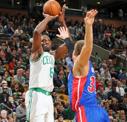 Jeff Green takes the reins for Boston, leading the Celtics to a playoff berth with 34 points and a clutch 3-pointer.  (Getty Images)