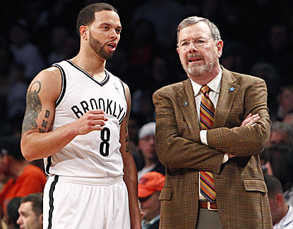 Deron Williams and Nets coach P.J. Carlesimo move closer to nabbing the fourth seed in the East with a 105-96 win. (USATSI)