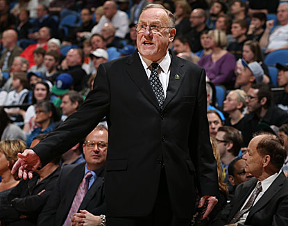 Minnesota coach Rick Adelman becomes the eighth member of the NBA's 1,000-win club after the Wolves top Detroit.  (Getty Images)