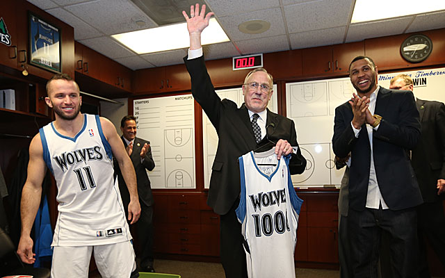 Rick Adelman is just the eighth coach to win 1,000 games, but it's no guarantee he'll return next season. (Getty)