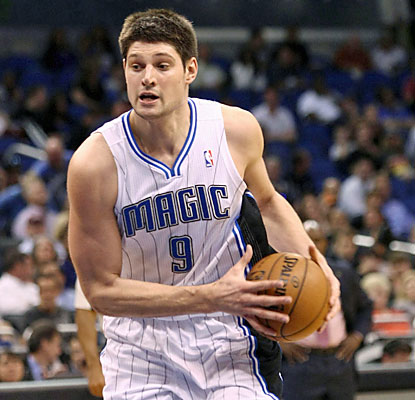 Nikola Vucevic won't be denied. The Magic center torches the Bucks with 20 rebounds and a career-best 30 points. (USATSI)