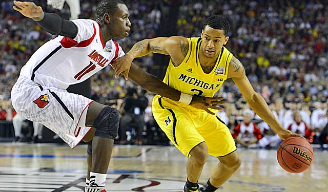 Trey Burke came up a little short vs. Louisville, but gained valuable experience. (USATSI)