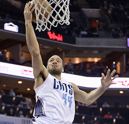 Jeffery Taylor and the Bobcats beat the Bucks, which sticks Milwaukee in the East's eighth seed in the playoffs. (USATSI)