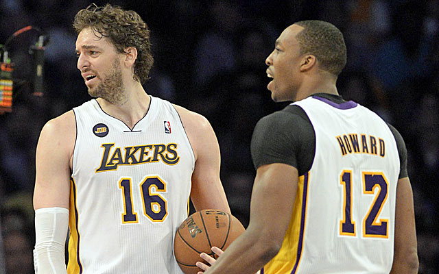 Pau Gasol, Dwight Howard (USATSI)
