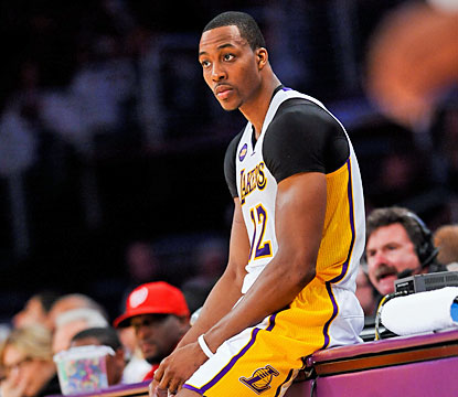 Dwight Howard scores seven points before getting tossed early in the third quarter for arguing with officials. (Getty Images)