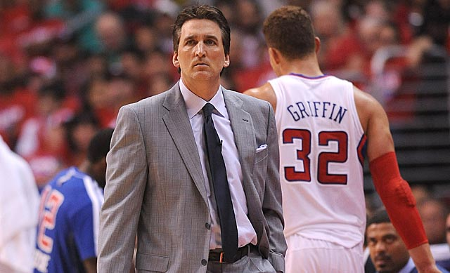 Vinny Del Negro's decisions might have knocked Blake Griffin -- and the Clippers -- out of this series.