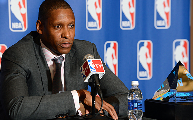 The NBA's exec of the year, Nuggets GM Masai Ujiri has enticed his former team in Toronto. (Getty Images)