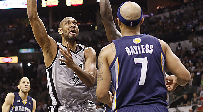 Young: It's a weird game, but Spurs survive
