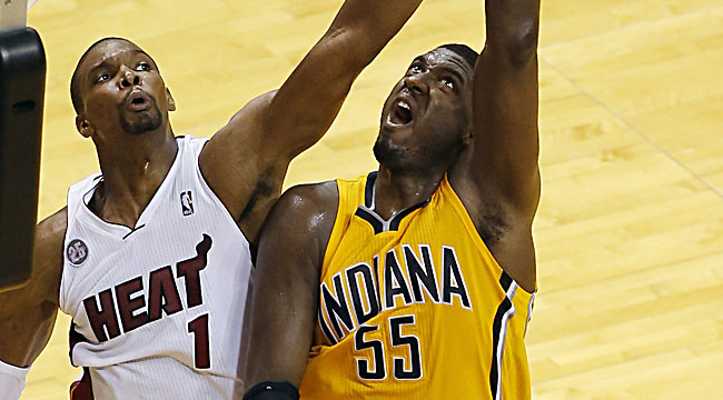 Harper: Where was Hibbert at game's end?