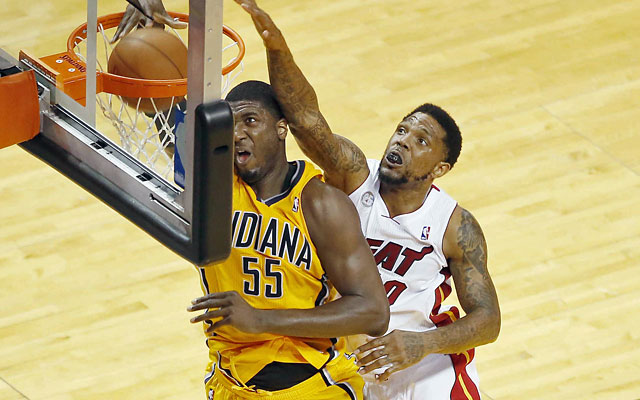 Roy Hibbert is a rare breed of center, one that is dominant under the basket and skilled with the ball. (USATSI)