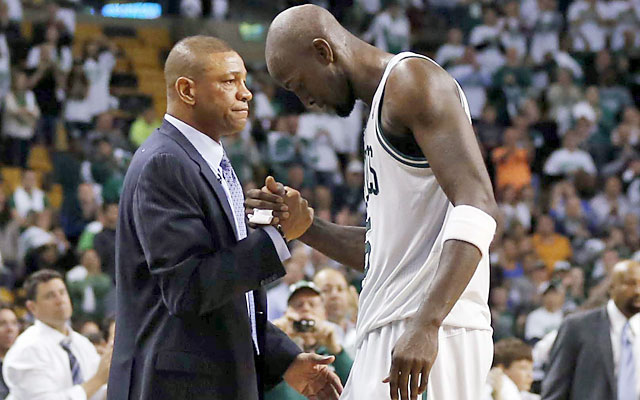 The reported trade between the Celtics and Clips would involve Doc Rivers, KG and DeAndre Jordan. (USATSI)