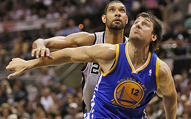 Andrew Bogut is among the players the Warriors are trying to unload to clear cap space. (USATSI)