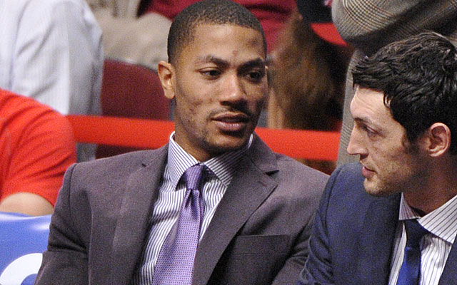 Derrick Rose won't be on the bench this season, but will he return to MVP form? (USATSI)