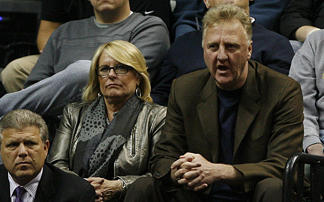 Larry Bird was a spectator last year but has returned as president of the Pacers. (USATSI)