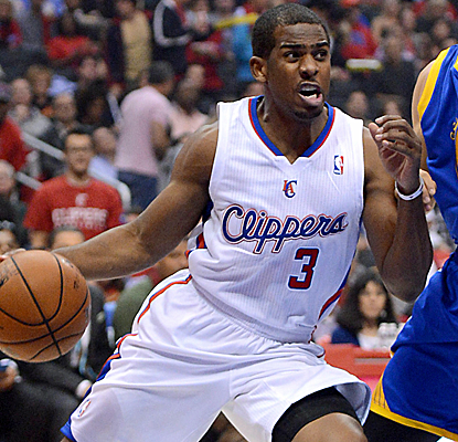Chris Paul is all over the court, notching 42 points and 15 assists as the Clippers get on track.  (USATSI)