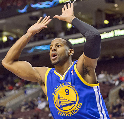 Andre Iguodala does no wrong on Monday as he finishes with a game-high 32 points, including a career-high seven 3s. (USATSI)