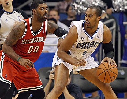 Orlando's Arron Afflalo goes for a career-high 36 points against the Bucks and also dishes out six assists. (USATSI)