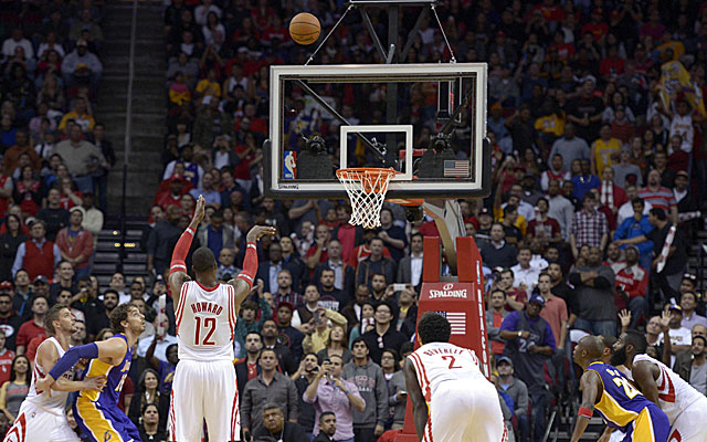 Dwight Howard has made 57 percent of his free throws in nine years in the NBA. (USATSI)