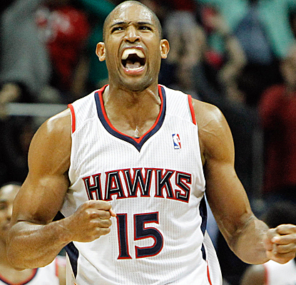 Al Horford is pumped after hitting the game-winning jumper with just over four seconds to play.   (USATSI)