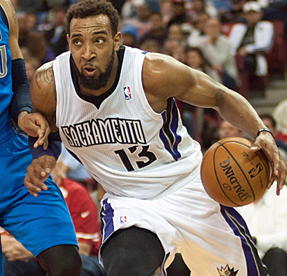 Recently acquired from the Wolves, Derrick Williams scores a career-high 31 points to help lift the Kings.  (USATSI)