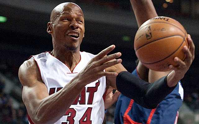 The Paleo diet keeps 38-year-old Ray Allen feeling and looking fit and trim. (USATSI)