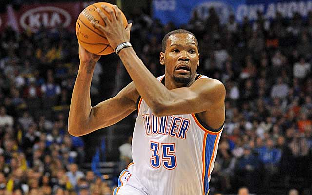 The Oklahoma City doesn't have much to worry about with Kevin Durant locked up through 2016.   (USATSI)