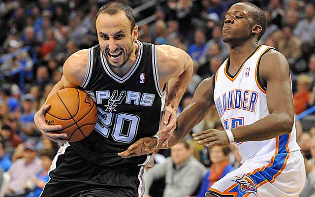 The ageless Spurs and the Thunder remain the standard in the West.  (USATSI)