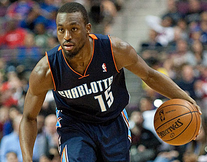 Kemba Walker scores 34 points to lead the Bobcats to a come-from-behind win over the Pistons. (USATSI)