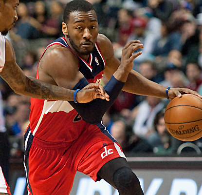 John Wall scores 29 points, and the Wizards rally past the Pistons with a big fourth-quarter surge. (USATSI)