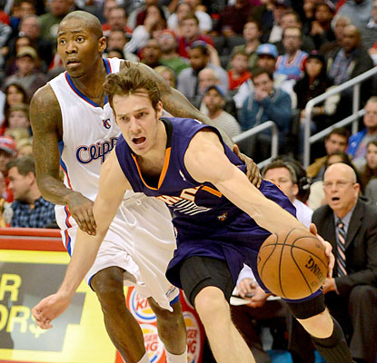 Goran Dragic, who plays just three quarters before resting in the fourth, finishes with a game-high 26 points. (USATSI)