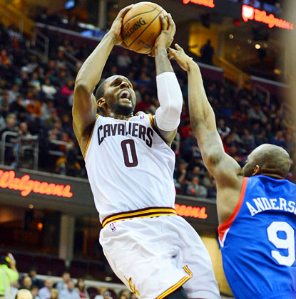 C.J. Miles sets a Cavaliers team mark by making 10 3-pointers and scores a season-high 34 points in a win over the Sixers. (USATSI)