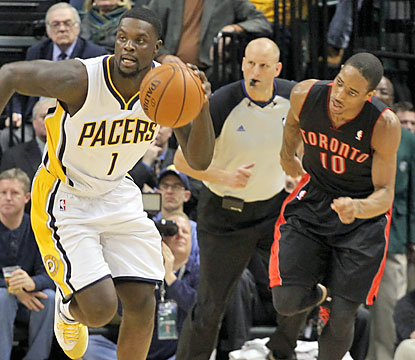 Lance Stephenson flirts with a triple-double as he finishes with 13 points, 10 rebounds and eight assists. (USATSI)