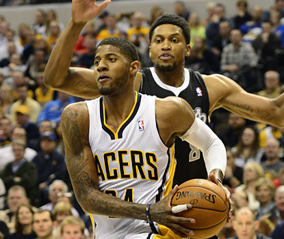 Paul George puts up a team-best 31 points to help the Pacers win their 30th game of the season. (USATSI)