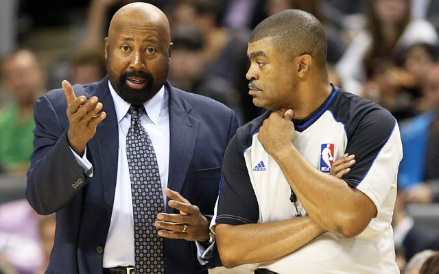 Even an NBA Finals ref like Tony Brothers (right) will miss a game-changing call. (USATSI)
