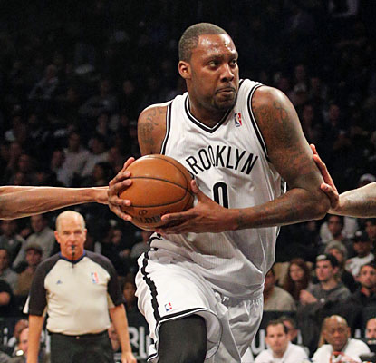 Andray Blatche scores a game-high 18 points off the bench for the Nets, who win their eighth game in nine tries. (USATSI)
