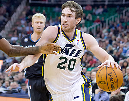 Gordon Hayward returns from injury with a game-high 27 points, but Utah falls to Minnesota. (USATSI)