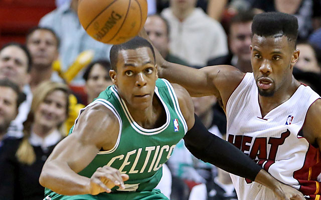 Will Rondo remain in Boston? 'Why would I want to leave? ... I've never backed away from a challenge.' (USATSI)