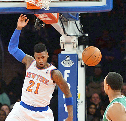 Iman Shumpert's Knicks have their way against the Celtics, who suffer the same fate New York did in the teams' first meeting. (USATSI)