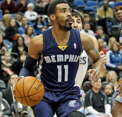 Mike Conley and Zach Randolph combine for 40 points as the Grizzlies win their sixth straight road game.  (USATSI)