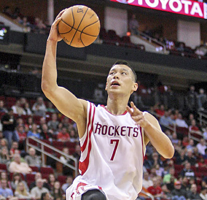 Jeremy Lin (15 points, 11 rebounds, 10 assists) comes off the bench to notch his first career triple-double. (USATSI)