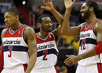 John Wall and the Wizards are starting to find their stride, pushing over .500 for the first time in over four years.  (USATSI)