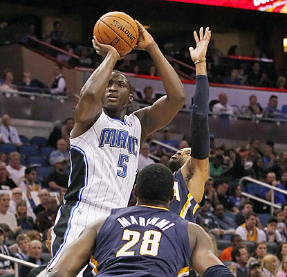 Rookie Victor Oladipo (23 points) helps the Magic beat the top teams in both conferences in back-to-back games. (USATSI)