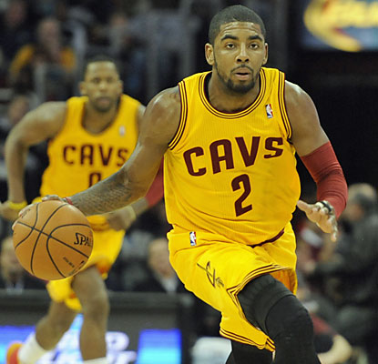 Kyrie Irving (28 points) and the Cavaliers improve to 2-0 since the firing of general manager Chris Grant. (USATSI)