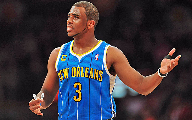 Would Chris Paul have taken less money to sign somewhere other than New Orleans? He isn't sure. (USATSI)