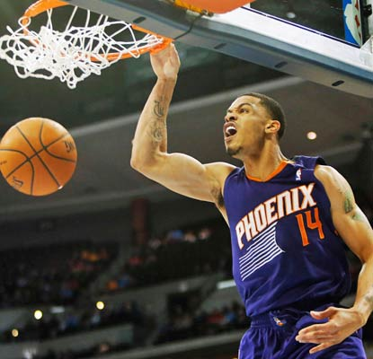 Phoenix's Gerald Green sets a career mark with 36 points, eight coming in overtime.  (USATSI)