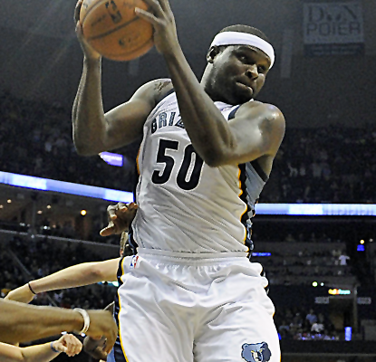 Zach Randolph posts 21 points and 11 boards to help lead the Grizzlies to a win over the visiting Clippers.  (USATSI)