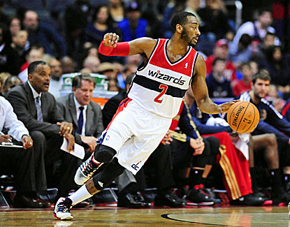 John Wall dishes out 12 assists, the final one to Nene for the winner as Washington tops Memphis. (USATSI)