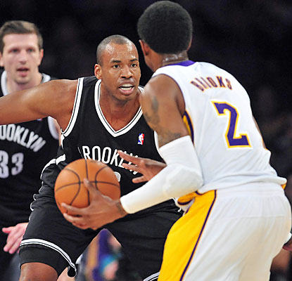 Jason Collins, who signs a 10-day contract with the Nets, plays in his first game since April 17, 2013. (USATSI)