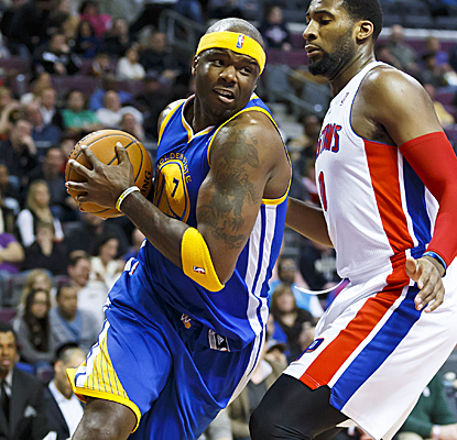 Jermaine O'Neal has another big game for Golden State, scoring 16 points to go with 10 rebounds.  (USATSI)